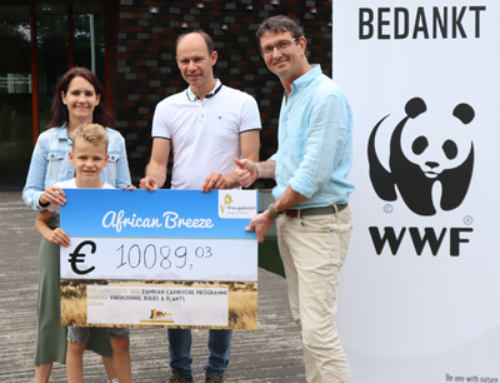 Vreugdenhil Bulbs & Plants doneert meer dan €10.000,- aan 'African Breeze' project